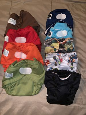 Cloth Diapers - Smart Bottoms, Imagine Baby, & Nicki's for Sale in St. Louis, MO