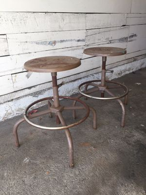 2 antique stools. $45 each or both for $75 for Sale in Los Angeles, CA