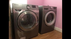 Samsung washer Kenmore Dryer both color Gray for Sale in Pompano Beach, FL