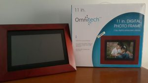 Omnitech 11in. Digital Photo Frame for Sale in Charlotte, NC
