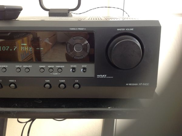 Onkyo HT-R430 Receiver with remote control