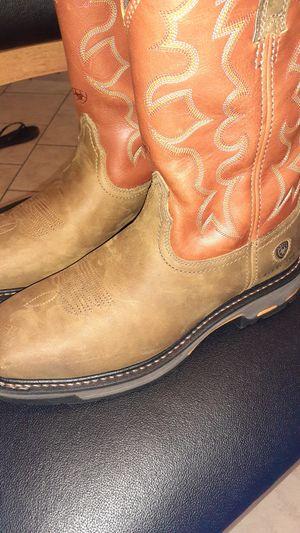 Ariat steel toe 10ee for Sale in Houston, TX