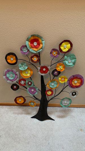 Metal colorful tree wall decor for Sale in Auburn, WA