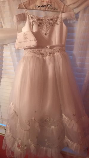 White Communion Dress for Sale in Crosby, TX