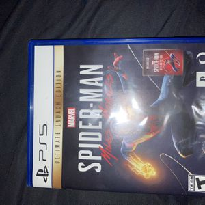 PS5 Spider-Man Miles Morales Ultimate Launch Edition for Sale in National City, CA
