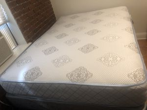 Full Size Bed with Frame for Sale in New York, NY