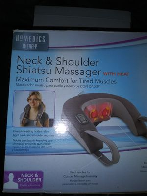 Heated Neck and Shoulder Shiatsu Massager for Sale in Washington, DC