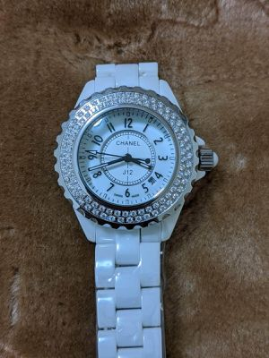 Luxury watch FOR women ceramic bracelet for Sale in Queens, NY