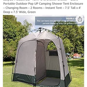 Shower Shelter Giant Portable Pop Up Camping Shower for Sale in Norwalk, CA