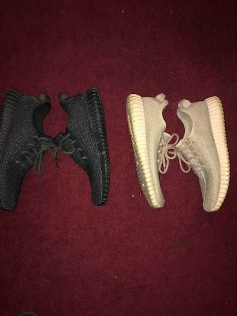 Pirate black and oxford tan yeezy boost