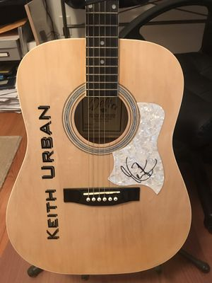 Keith Urban signed guitar for Sale in Naugatuck, CT