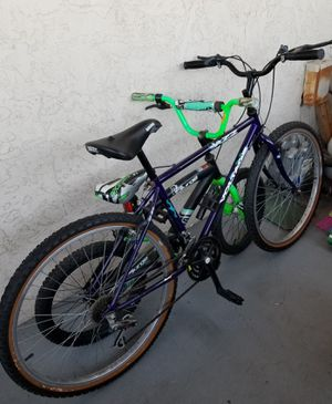 2 bicycles for sale for Sale in La Mesa, CA