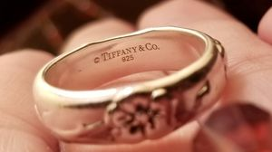 Tiffany & Co Nature Rose Flower Ring for Sale in Sutton, MA