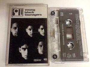 YOUNG BLACK TEENAGERS Cassette Tape - East Coast Rap Hip Hop - 1991 for Sale in Las Vegas, NV
