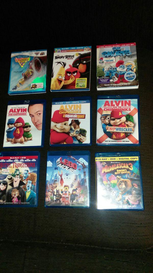 9 kids blue ray movies