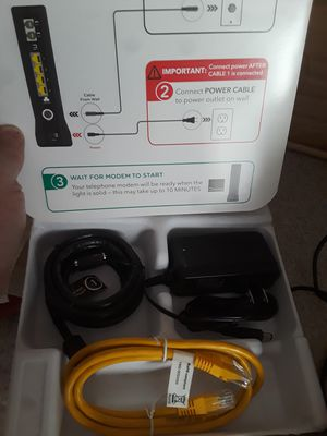 Cox modem/router brand new for Sale in Las Vegas, NV