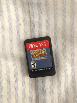 Ultra Street Fighter 2 The final Challengers for the Nintendo Switch READ DESCRIPTION for Sale in Chelsea, MA