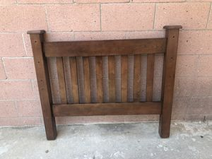 Twin size bed frame pottery barn style for Sale in San Pedro, CA