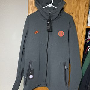 NWT Men's Nike Tech Pack Chelsea FC Soccer Full Zip Hoodie Jacket Sz XL for Sale in Garden Grove, CA