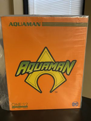 One:12 Collectible Mezco Toys -DC Aquaman for Sale in Winter Garden, FL