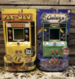 Mini Arcade Game Classic Arcade Games Pac-Man And Galaga NEW for Sale in Las Vegas, NV