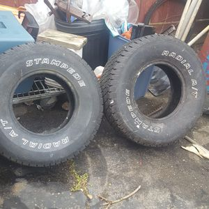1 cooper tire with rim. 2 radial and 1 Yokohama for Sale in Brentwood, PA