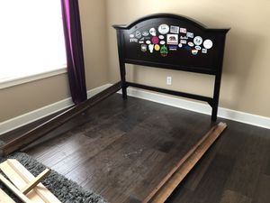 Double/Full bed frame and dresser for Sale in Tigard, OR