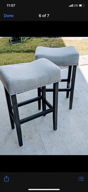 Island chairs set of 4 $60 for Sale in Houston, TX