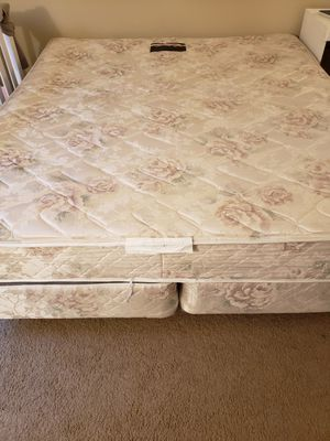 Free - Cal King Mattress and Box Spring for Sale in Mill Creek, WA