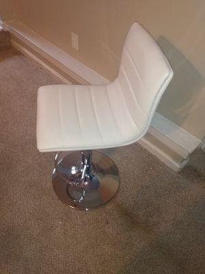 Brand New white armless leather chair for Sale in Jonesboro, GA