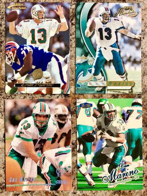 NFL Hall of Famer, Dan Marino 4 Card Lot for Sale in Hialeah, FL