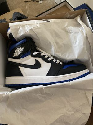 Air Jordan 1 royal toe size 10.5 for Sale in Alexandria, VA