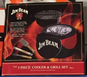 Jim Beam BBQ 5 Piece Grill Set for Sale in Coconut Creek, FL