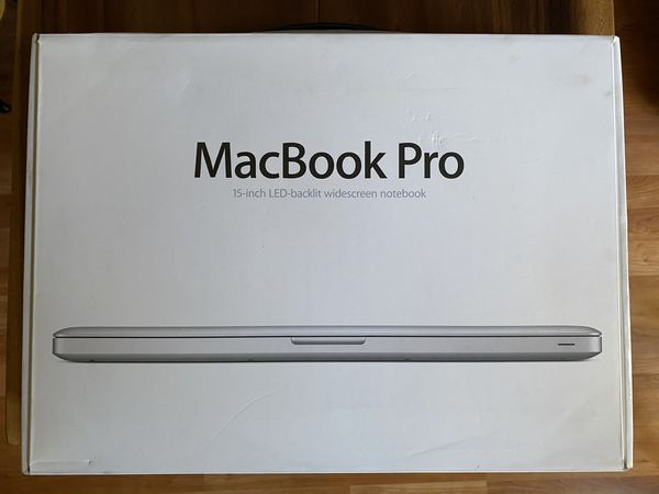 2009 MacBook Pro 15 250GB