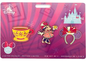 Disney Minnie Main Attraction Tea Cup Pins Set for Sale in Houston, TX