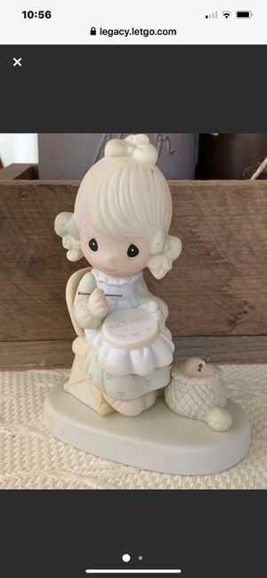 "Precious Moment Porcelain 1979 ""Mother Sew Dear"" Figurine for Sale in Danville, CA"