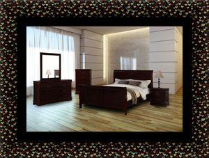 11pc Louis Phillipe bedroom set for Sale in Hyattsville, MD