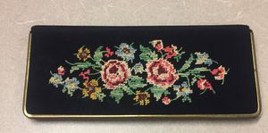 Needlepoint Cosmetic Mirror and Comb for Sale in Philadelphia, PA