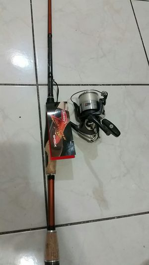 Fishing rod and reel for Sale in South Gate, CA