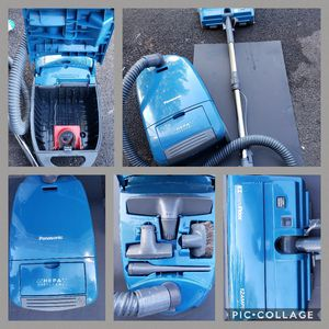 PANASONIC CANISTER VACUUM WITH ATTACHMENTS for Sale in Perkasie, PA