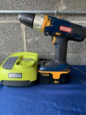 Ryobi drill and charger for Sale in Tinicum Township, PA