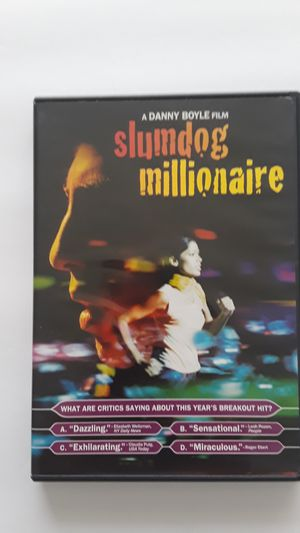 Slumdog millionaire, catch me if you can for Sale in Lauderhill, FL