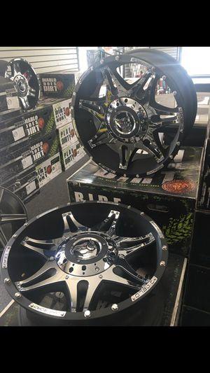 20in. Diablo custom wheels, off road... for Sale in Waldorf, MD