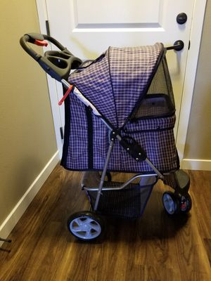 Collapsible Pet Stroller - Like New! for Sale in Gig Harbor, WA