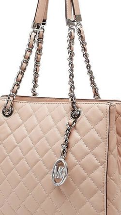 Michael Kors Susannah blush leather tote bag purse for Sale in Troutdale,  OR