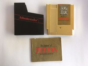 Zelda for nes for Sale in Chino, CA