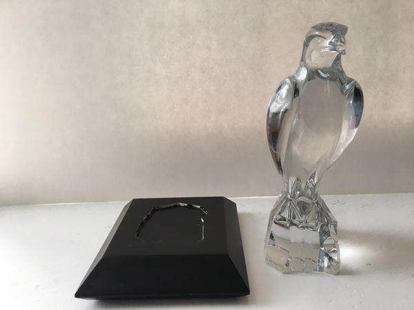 Rare Baccarat Crystal Falcon Eagle