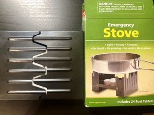 NEW emergency foldable stove great for camping for Sale in San Francisco, CA