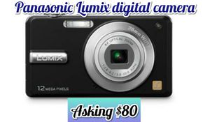 Panasonic digital camera for Sale in Oceanside, CA