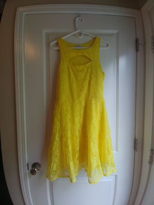 Size XL Fit and Flare Yellow Dress for Sale in Gahanna, OH